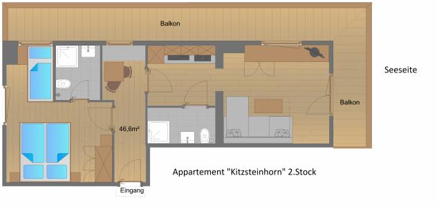 Appartement Kitzsteinhorn