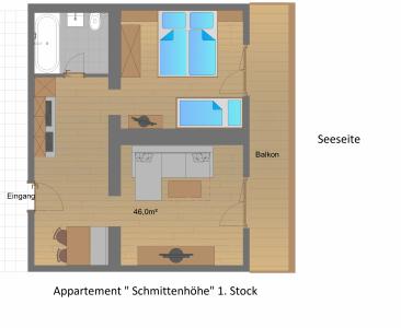 Appartment Schmittenhöhe