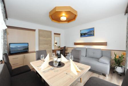 """Appartement """"Birnhorn""""  Wohnzimmer"""