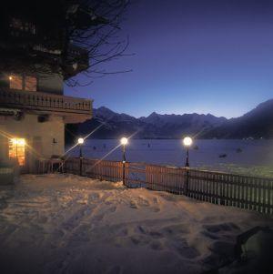 Gasthof Seestrand im Winter