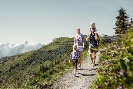 Wandern auf Schmittenhöhe