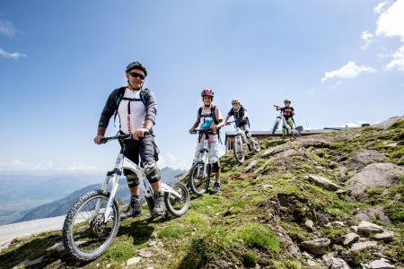 Biking auf Schmittenhöhe