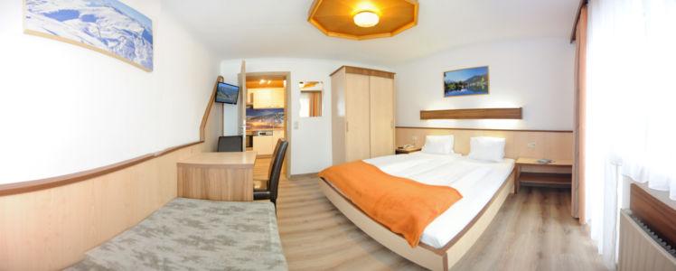 Appartement Schmittenhöhe Schlafzimmer