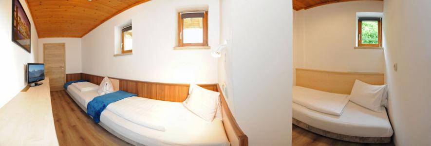 """Appartement """"Birnhorn""""  Schlafzimmerzimmer 2"""