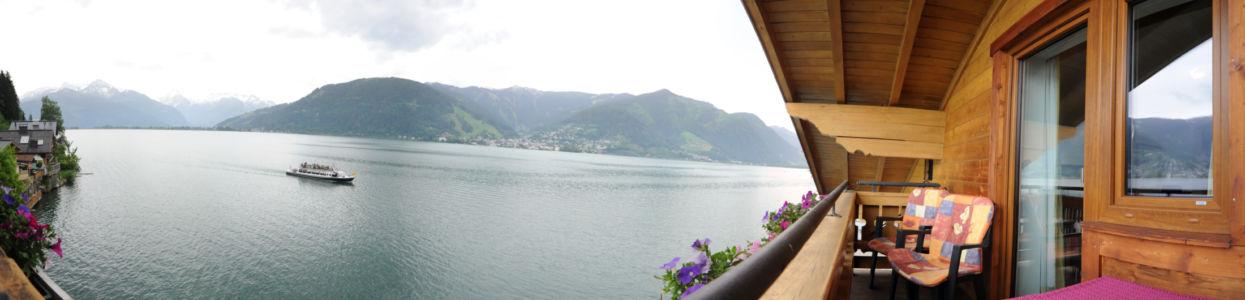 """Appartement """"Sonnkogel"""" Aussicht vom Balkon"""